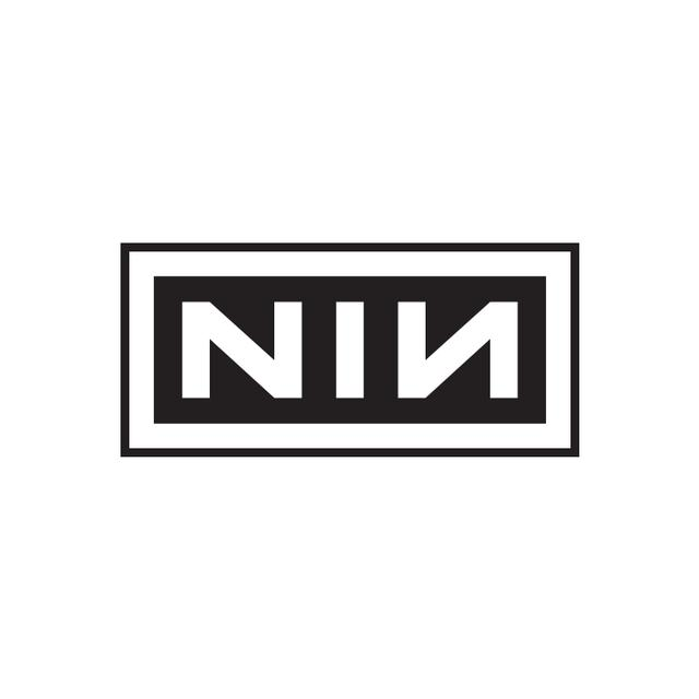 Nine Inch Nails NIN Logo Embroidered Patch