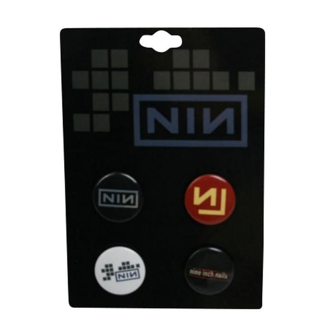Nine Inch Nails Button Pack
