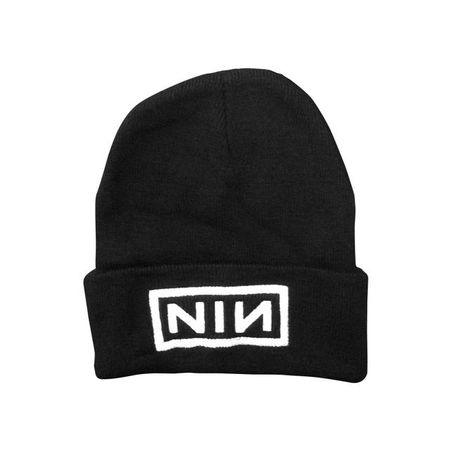 Nine Inch Nails Logo Embroidered Beanie