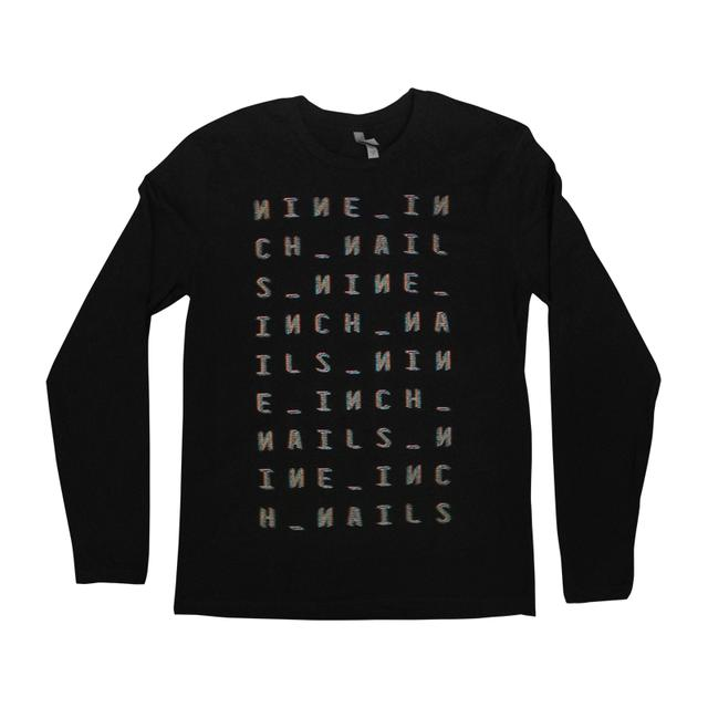 Nine Inch Nails Motion Box Long Sleeve Tee