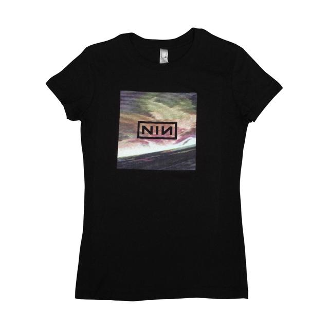 Nine Inch Nails Wave Box Womens Tee