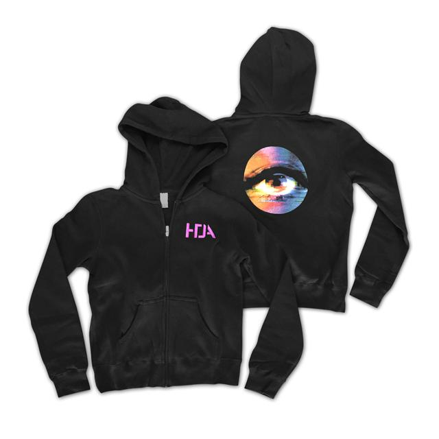Nine Inch Nails HTDA - The Watcher Womens Zip Hoodie