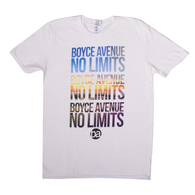 Boyce Avenue No Limits Sunset T-Shirt