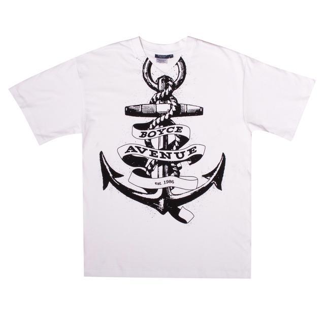 Boyce Avenue Anchor V-Neck T-Shirt