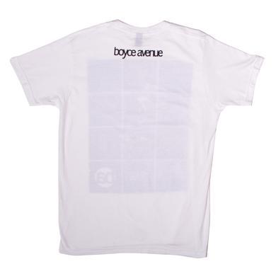 Boyce Avenue Square Checkered Photo T-Shirt