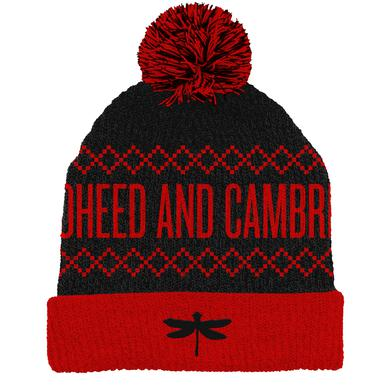 Coheed and Cambria Dragonfly Pom Beanie