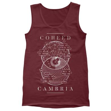 Coheed and Cambria Sphere Eye Tank