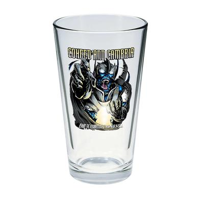 Coheed and Cambria Wilhelm Pint Glass
