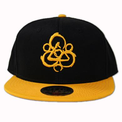Coheed and Cambria Keywork Snapback Black/Gold