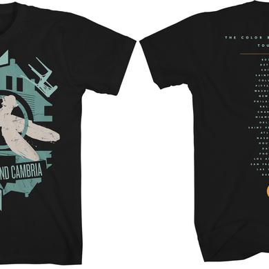 Coheed and Cambria Album Abstract 2016 Tour T-Shirt