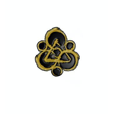 Coheed and Cambria Keywork Enamel Pin