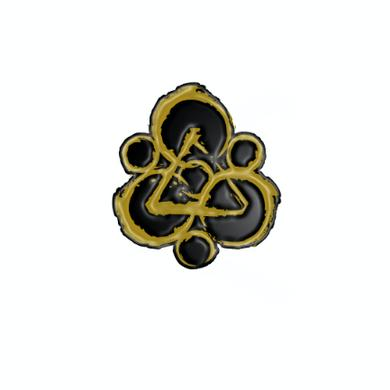 Coheed and Cambria Keywork Enamel Pin