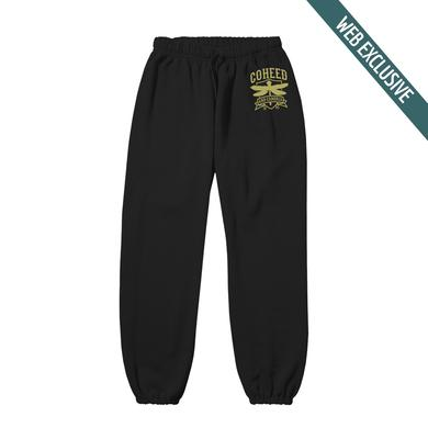 Coheed and Cambria Dragonfly Crest Sweatpants