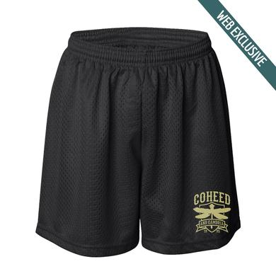 Coheed and Cambria Dragonfly Crest Gym Shorts
