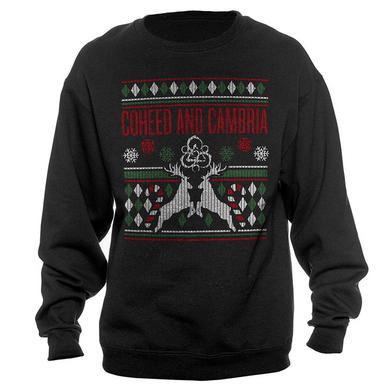 Coheed and Cambria Snowflake Holiday Crewneck Sweatshirt