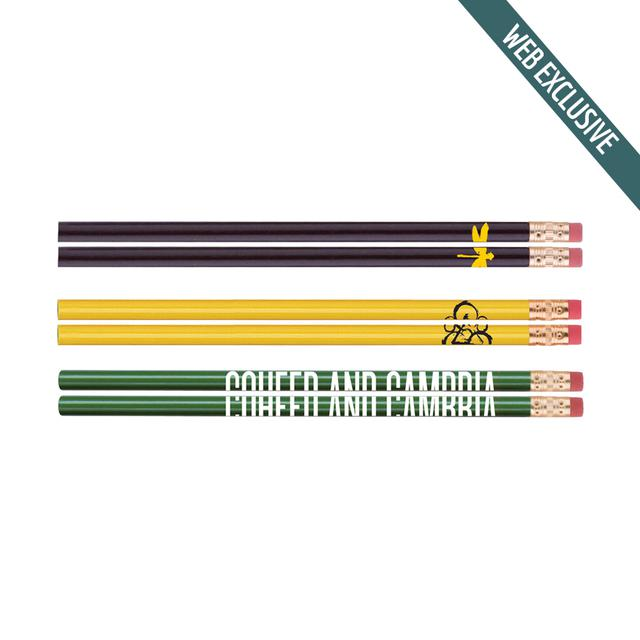 Coheed and Cambria Keywork Dragonfly Logo 6 Pack of Pencils