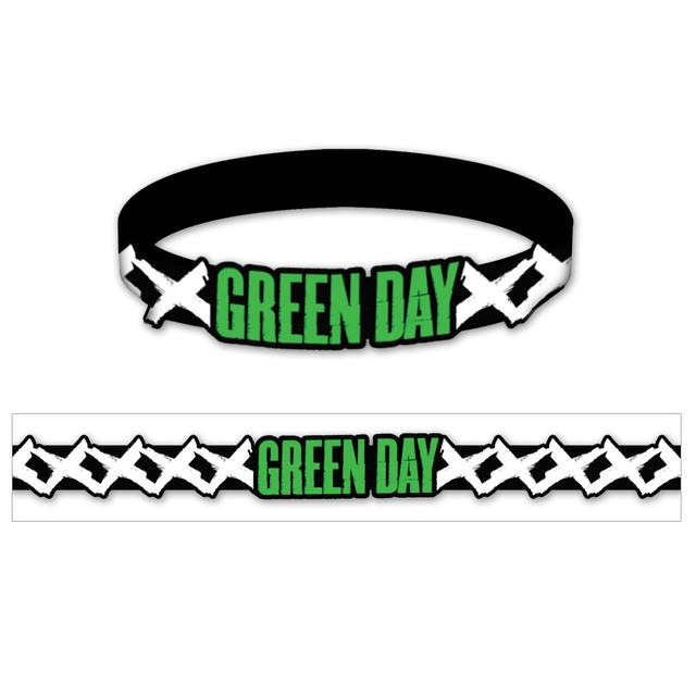 Green Day Rubber Bracelet