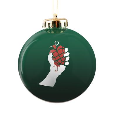 Green Day Idiot Ornament