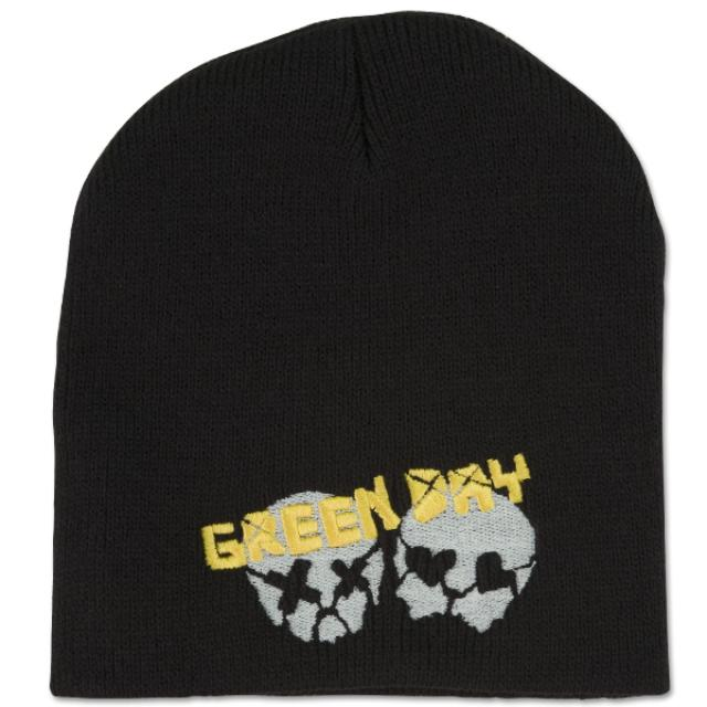 Green Day Skulz Beanie