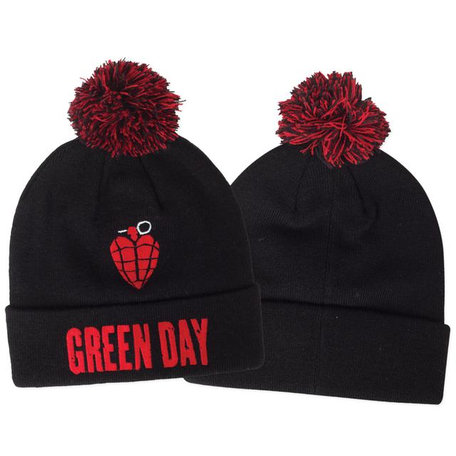Green Day Idiot Grendade Pom Beanie