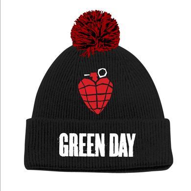 Green Day Idiot Grendade Pom Beanie