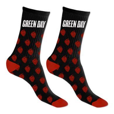 Green Day Grenade Repeat Knit Socks