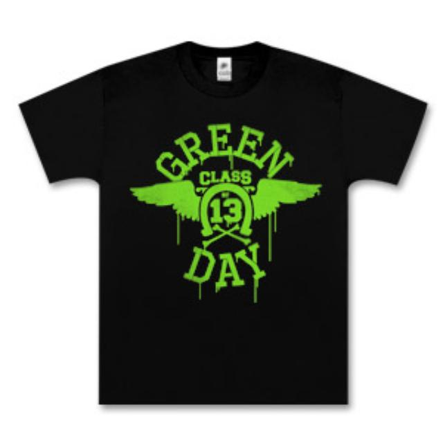 Green Day Neon Wings T-Shirt