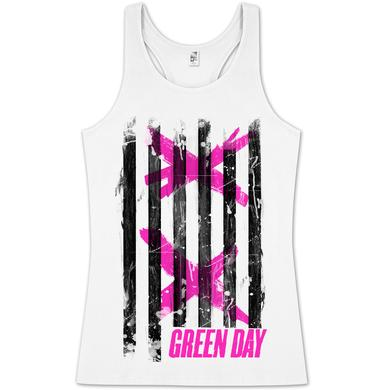 Green Day XX Stripes Tank Top