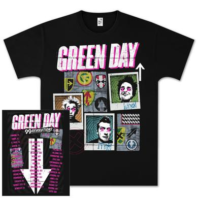 Green Day Picture Perfect Tour T-Shirt
