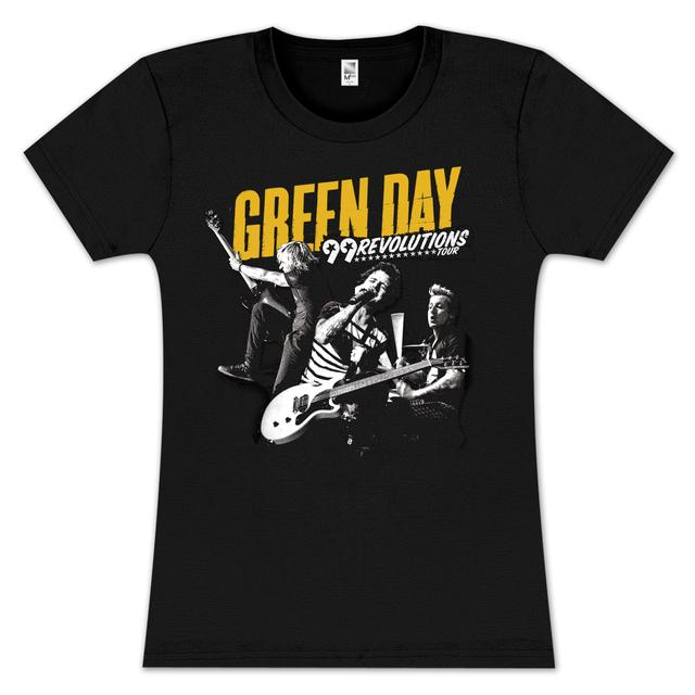 Green Day Solid Gold Jr T-Shirt