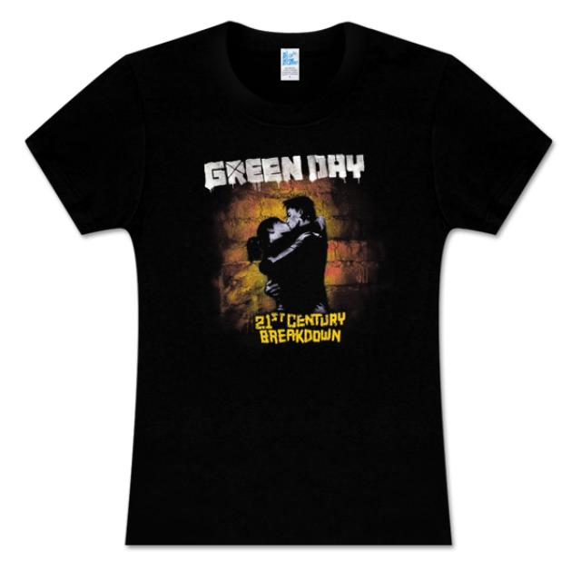 Green Day 21st Century Breakdown Women's T-Shirt