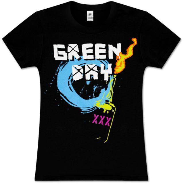 Green Day Molotov Women's T-Shirt