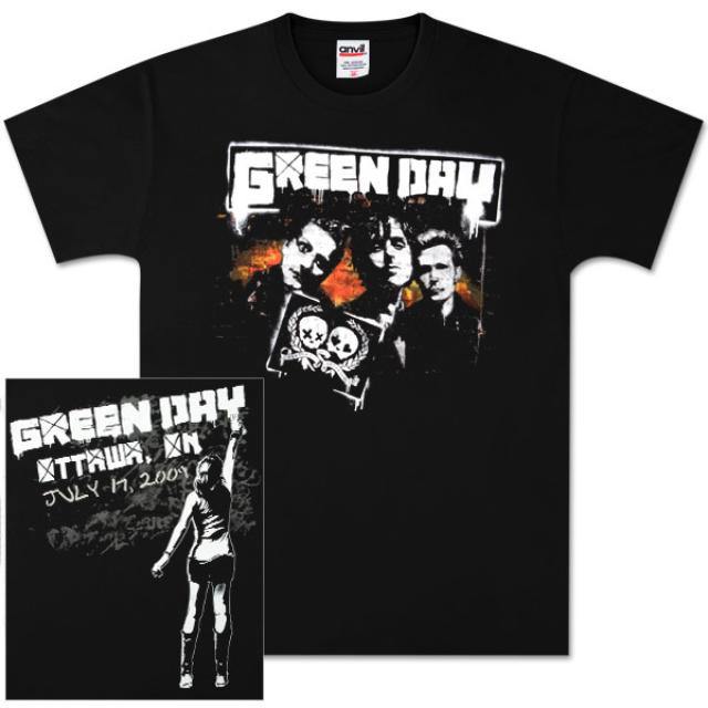 Green Day Ottawa Event T-Shirt