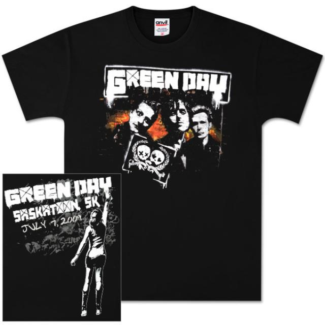Green Day Saskatoon Event T-Shirt