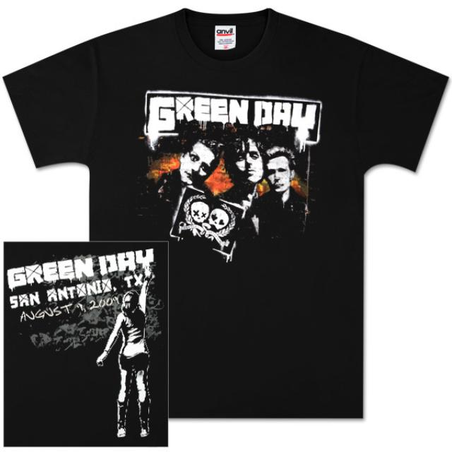 Green Day San Antonio Event T-Shirt
