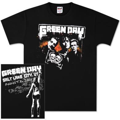Green Day Salt Lake City Event T-Shirt