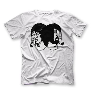 Death From Above 1979 Big Heads T-Shirt White