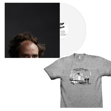Jonny Fritz - Coke bottle clear vinyl + Stadium Inn Tee