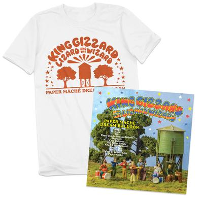 ATO Records Paper Mâché Dream Balloon T-shirt + Album Bundle