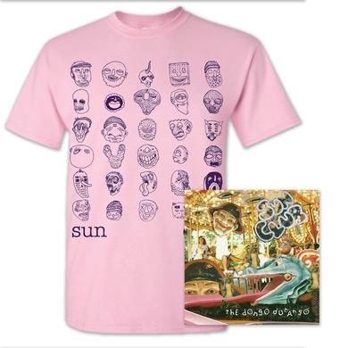 SUN CLUB - THE DONGO DURANGO T-Shirt + Album Bundle
