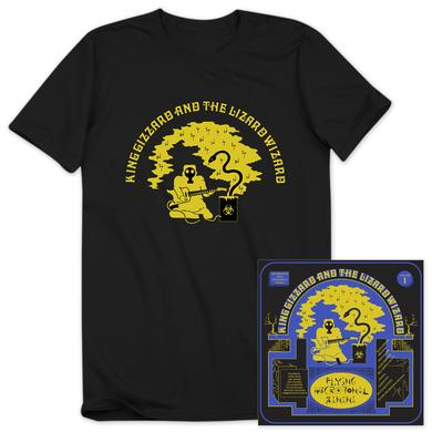 "King Gizzard & The Lizard Wizard ""Flying Microtonal Banana"" Album + T-shirt Bundle"