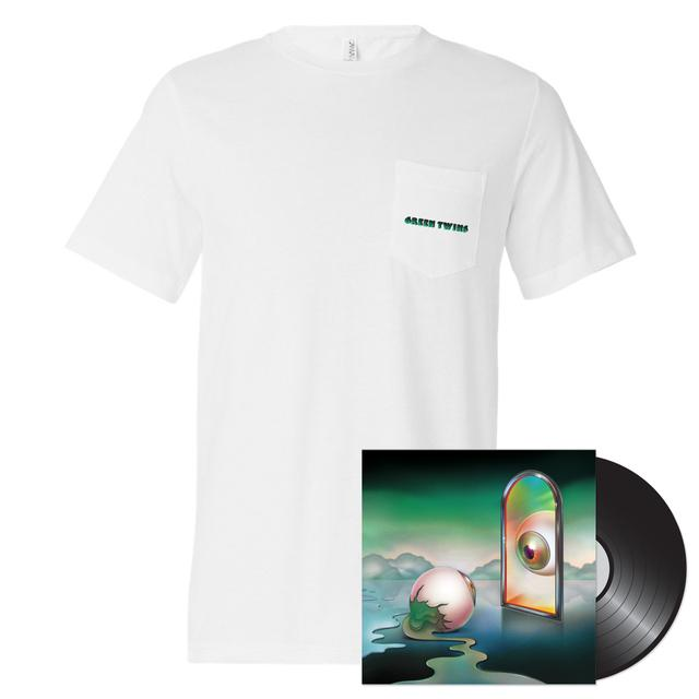 Nick Hakim - Green Twins LP + T-Shirt Bundle