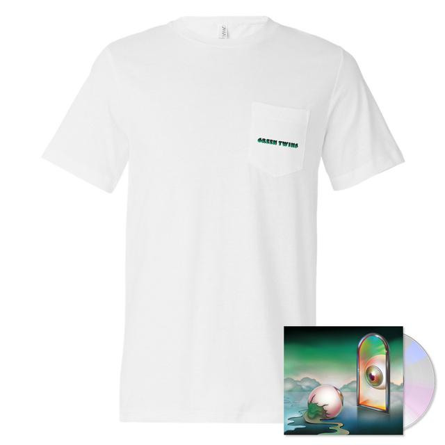 Nick Hakim - Green Twins CD + T-Shirt Bundle