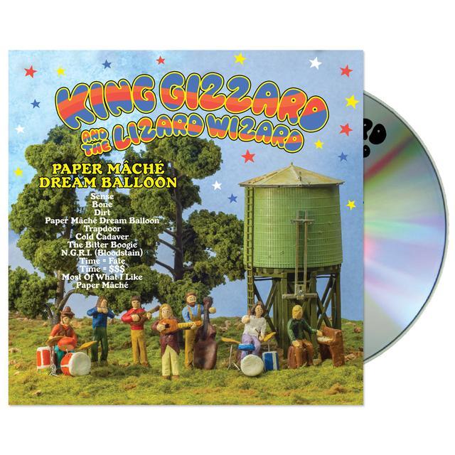 King Gizzard & The Lizard Wizard Paper Mache Dream Balloon CD