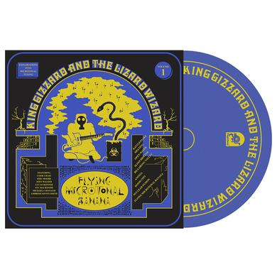 "King Gizzard & The Lizard Wizard ""Flying Microtonal Banana"" CD"