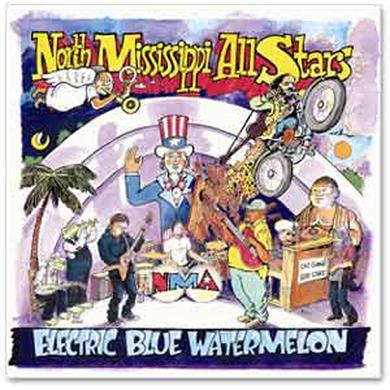 North Mississippi Allstars North Mississippi All Stars - Electric Blue Watermelon CD