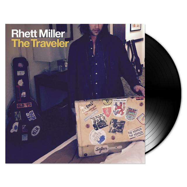 Rhett Miller with Black Prairie - The Traveler Vinyl LP