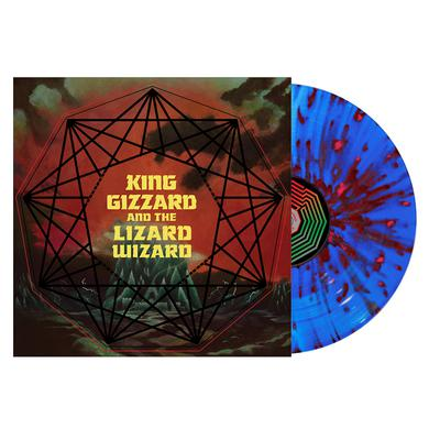 King Gizzard & The Lizard Wizard – Nonagon Infinity - Translucent Blue with Red Splatter Colored Vinyl (Pre-order, Ships Mid-June)