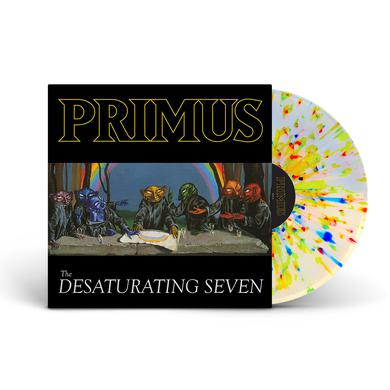 Primus - The Desaturating Seven Rainbow Splatter Colored Vinyl