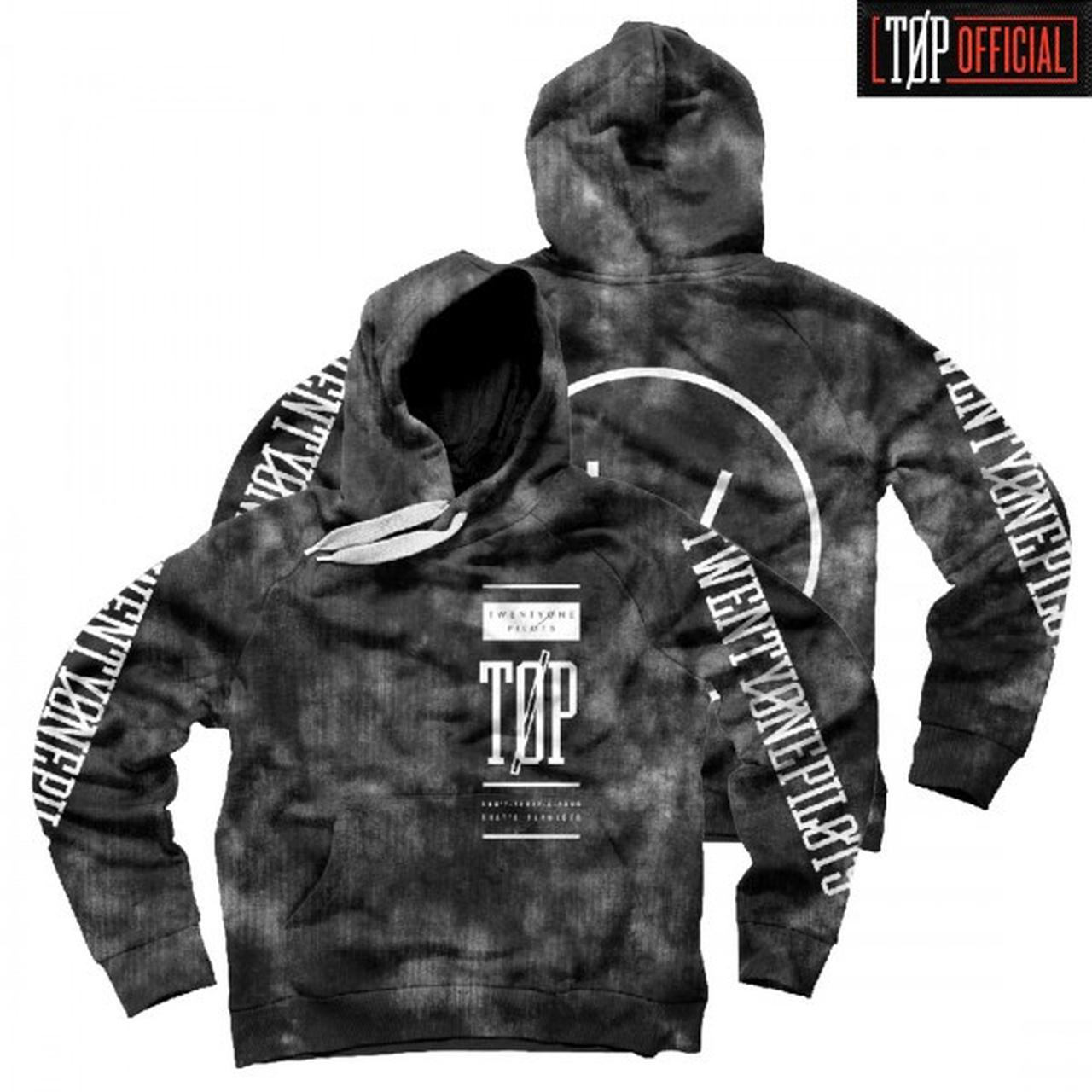 twenty one pilots acid text hoodie. Black Bedroom Furniture Sets. Home Design Ideas
